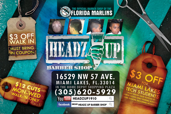 Headz Up Barber Shop Promotional Flyer - Tight Designs & Printing of ...
