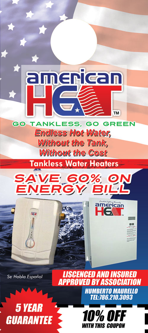 American Heat Tankless Water Heaters
