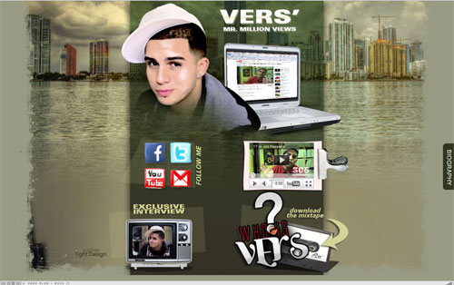 Vers Rapper Website