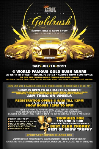 gold rush car show