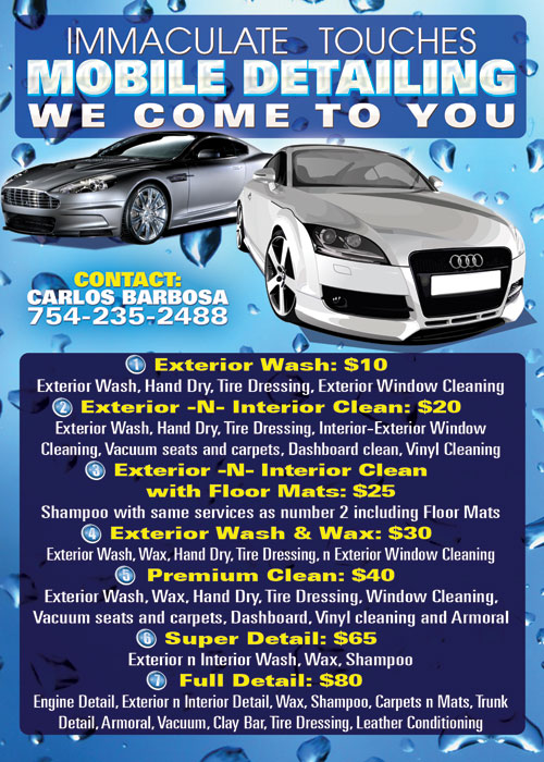 Immaculate Mobile Car Wash