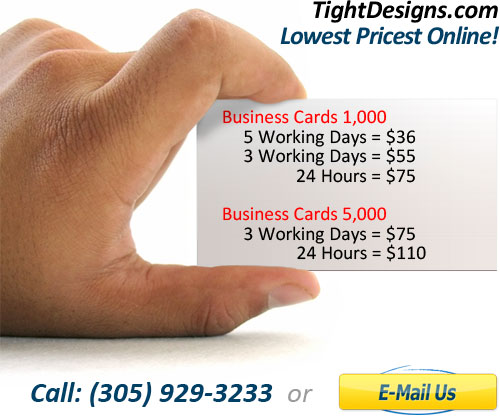 Business cards fort lauderdale for Business cards fort lauderdale