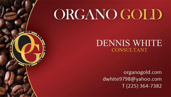 Organo Gold Cards