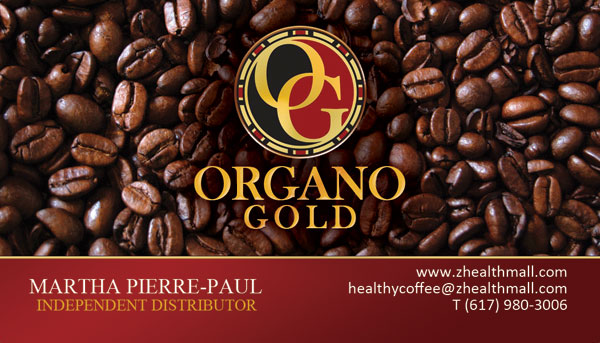 Martha Pierre Paul Organo Gold Cards