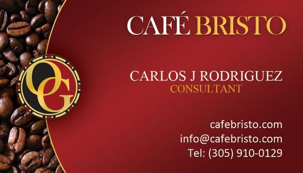 Carlos J Rodriquez Organo Gold Cafe Bristo