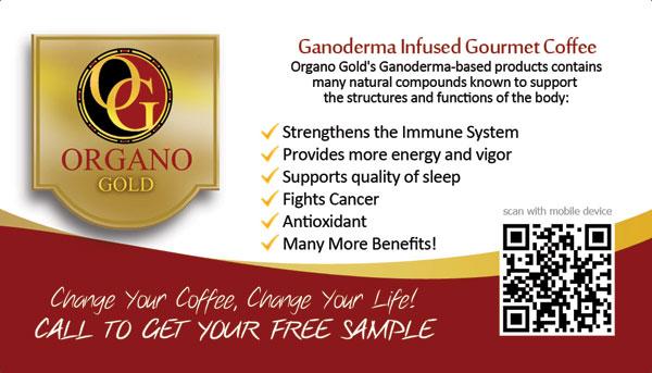 Sylvia Noel Gonzalez Organo Gold Business Card QR Code