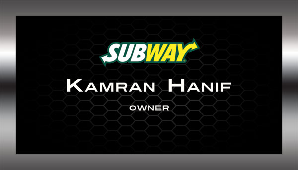 Subway owner business cards tight designs printing of florida subway owner business cards colourmoves