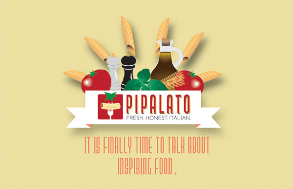 Flyer design for an Italian food restaurant in Pembroke Pines called Pipalato. We also do menus.