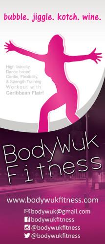 Body Wuk Fitness Banner Design for Roll Up Banner.