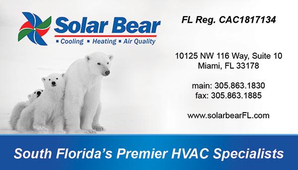 Solar Bear business card design for Mike Eberle