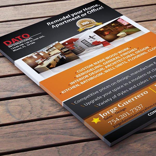 Affordable promotional postcard flyer printer in Miramar.