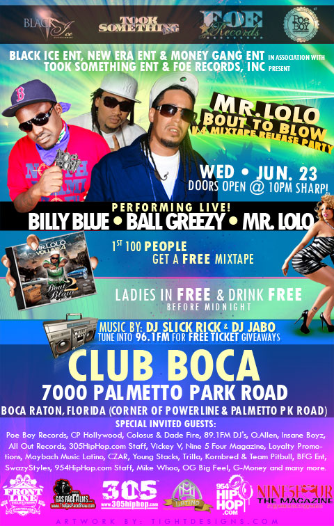 Mr Lolo Mixtape Release Party Flyer Design Tight Designs Amp Printing Of Florida