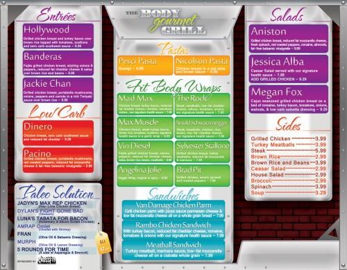 Body Gourmet Grill