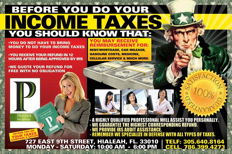 Income Tax Miami Beach