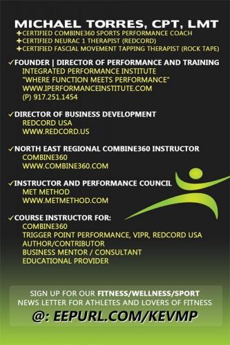 MET Movement Efficiency Training Michael Torres