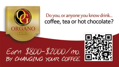 Organo Gold Business Card
