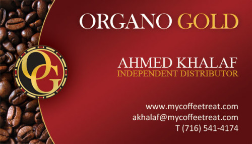 Organo Gold Cards