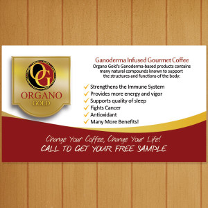 Organo Gold Benz Club Business Card