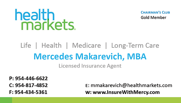 Health Markets Insurance Agent Business Cards