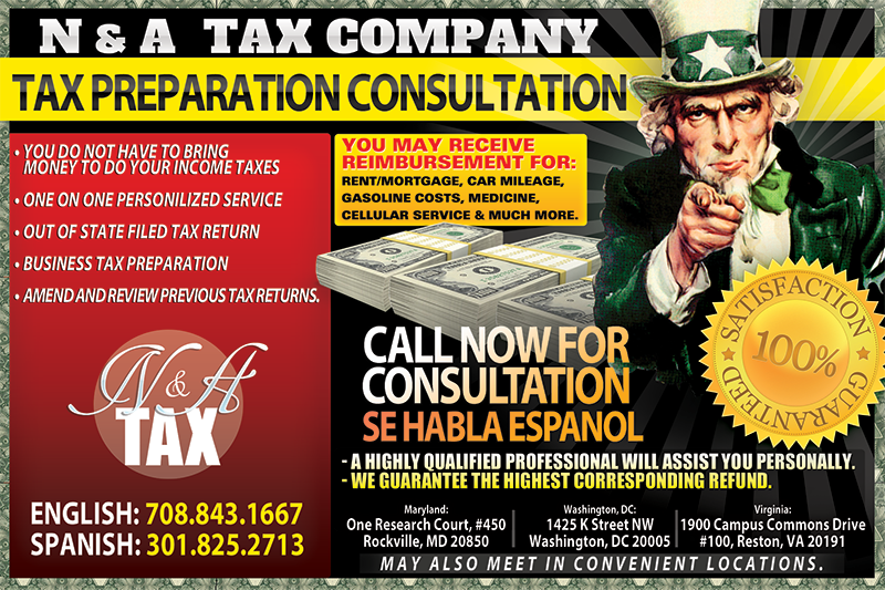 Income Tax Service Flyer Design Printing In Florida