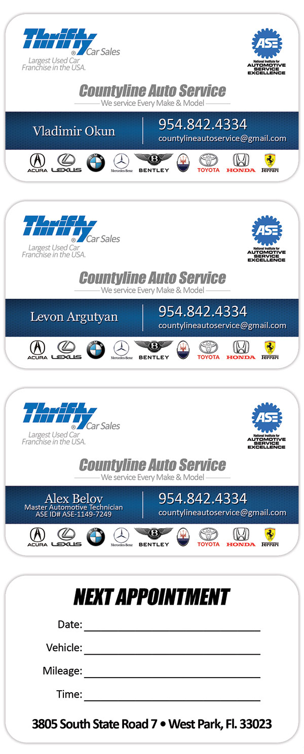 thrifty-car-sales-auto-service-business-cards - Tight Designs ...
